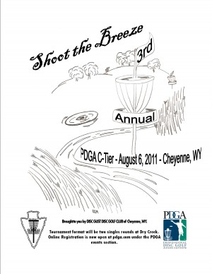 "3rd Annual ""Shoot the Breeze"" graphic"