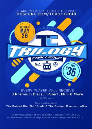 Trilogy Challenge 2018 at the Rock graphic