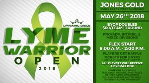 Lyme Warrior Open graphic