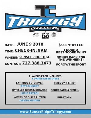 Sun King presents Trilogy Challenge (Hudson FL) graphic