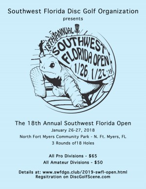18th Annual Southwest Florida Open presented by Sun King graphic