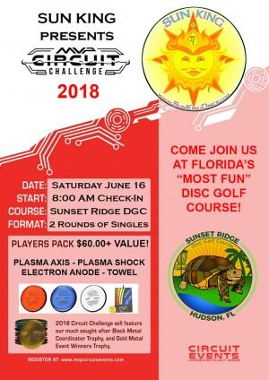 Sun King presents MVP Circuit Event (Sunset Ridge DGC) graphic