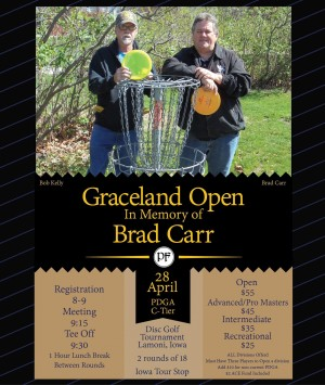 Graceland Open In Memory Of Brad Carr graphic
