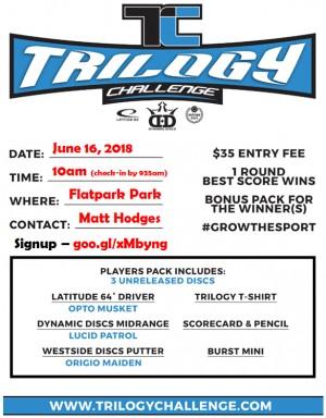 Trilogy Challenge - Flatrock Park graphic