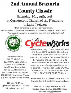 2nd Annual Brazoria County Classic graphic