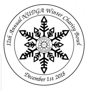 12th Annual NUDGA Winter Charity Bowl graphic