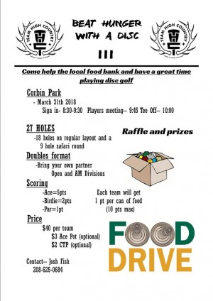 Beat Hunger with a Disc III graphic