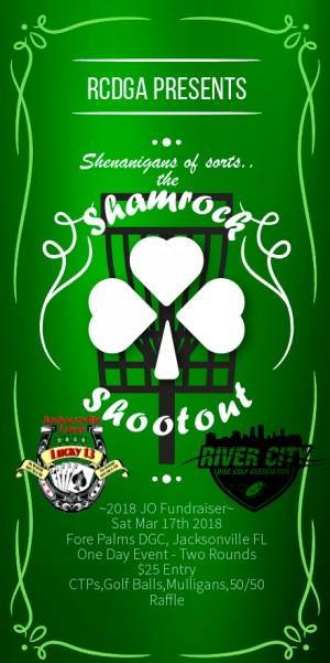 Shamrock Shootout - JO Fundraiser graphic