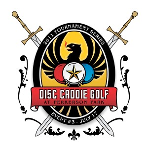 Disc Caddie Tournament #3 at Perkerson Park graphic