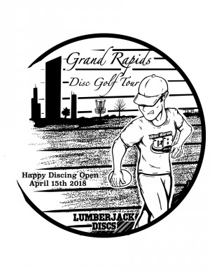 Happy Discing Open graphic