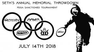 Seth's Annual Memorial Throwdown graphic