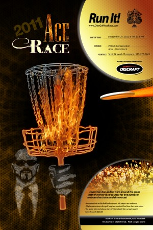 Discraft Ace Race hosted by Woodstock Disc Golf Collective graphic