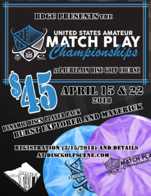 United States Amateur Match Play Championships - BDGC region graphic
