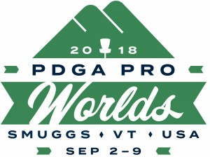 2018 PDGA Professional Disc Golf World Championships graphic