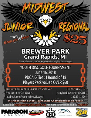 2018 Eagles Wings JUNIOR Midwest Regional graphic
