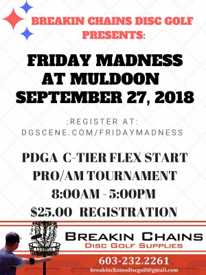 Friday Madness at Muldoon graphic