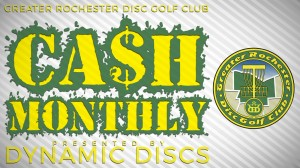 GRDGC Cash Monthly at Basil presented by Dynamic Discs graphic