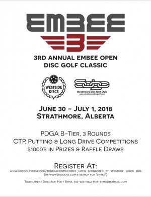 EmBee Open Sponsored by Westside Discs - GDG $5k/$10k Event graphic