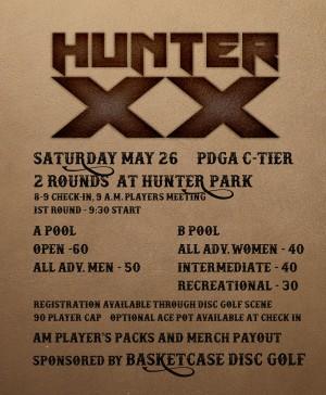 Hunter XX graphic