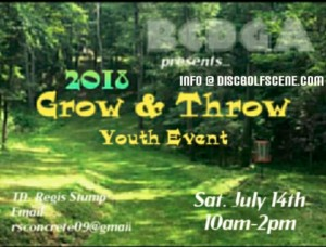 Grow & Throw Pt. 1 Sponsored by Dynamic Discs graphic