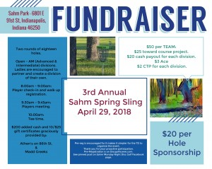 3rd Annual Sahm Spring Sling B.Y.O.P. FUNdraiser graphic