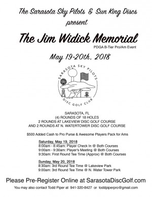 SSP/Sun King present 2018 Jim Widick Memorial graphic