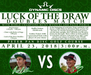 Luck of the Draw Doubles at Peter Pan (GBO week) graphic