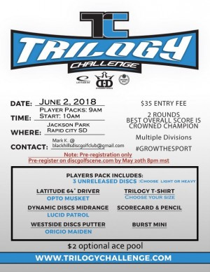5th annual Trilogy Challenge graphic