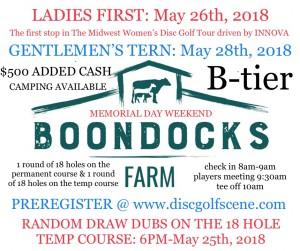 2nd Annual Ladies First @ Boondocks Farm graphic