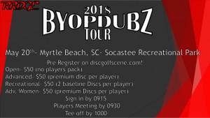 BYOP Dubz Tour Event 1 Myrtle Beach graphic