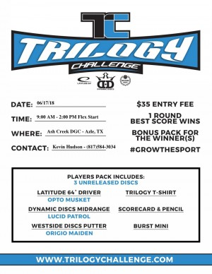 2018 Trilogy Challenge at Ash Creek graphic