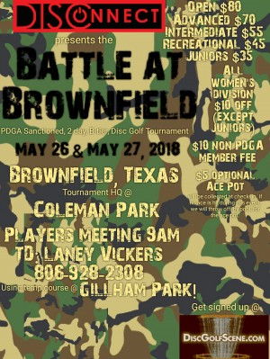 DISConnect presents The Battle At Brownfield graphic