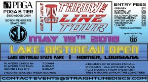 Lake Bistineau Open - Throw the Line Tour Event graphic