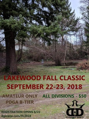 Lakewood Fall Classic graphic