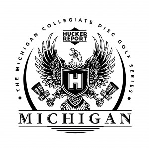 MICHÍGAN  COLLEGIATE DISC GOLF CHAMPIONSHIP graphic