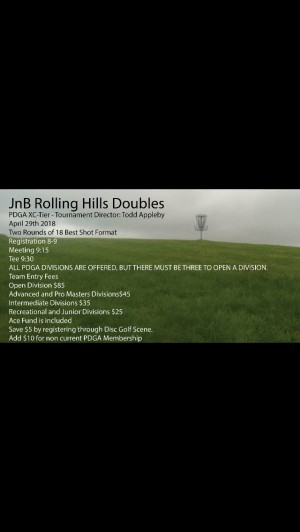 JnB Rolling Hills Doubles graphic