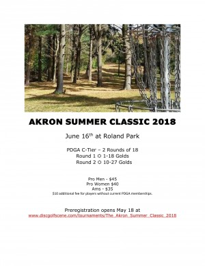 The Akron Summer Classic - Presented by: LAFS graphic