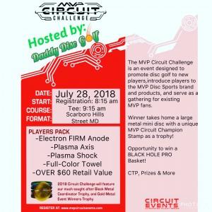 Daddy Disc Golf Presents: MVP Circuit @ Scarboro Hills DGC graphic