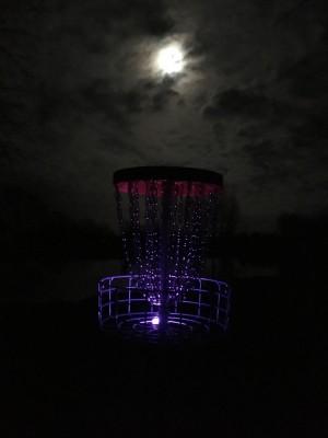 The Full Flower Moon Glow Night graphic