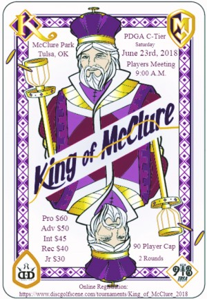 King of McClure graphic