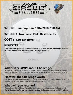 2018 MVP Circuit Challenge Nashville graphic
