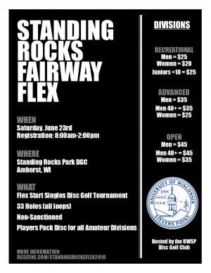 Standing Rocks Fairway Flex graphic