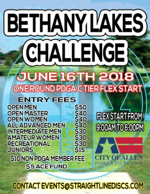 Bethany Lakes Challenge - One Round C Tier Flex Start graphic