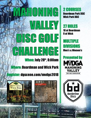 Mahoning Valley Disc Golf Challenge graphic