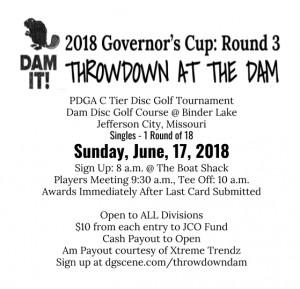 Throwdown at The Dam graphic