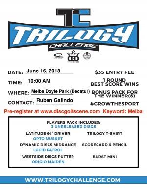 Trilogy Challenge at Melba Doyle Park graphic