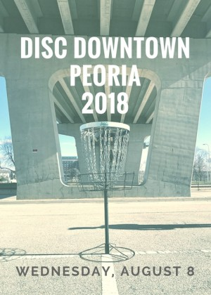 Disc Downtown Peoria graphic