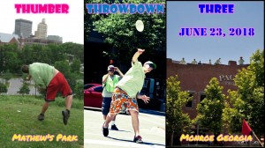 Thumber Throwdown 3: Presented By MVP Disc Sports graphic