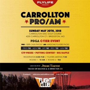 FLYLIFE presents Carrollton Pro/Am Flight Club Series graphic