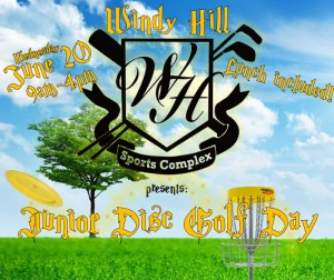 Windy Hill Presents: Junior Disc Golf Day graphic